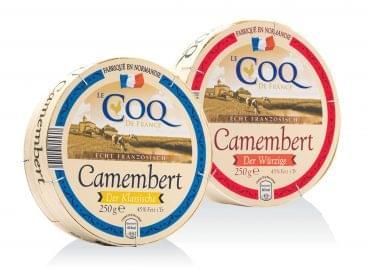 Fadobozos francia camembert sajt az ALDI-ban