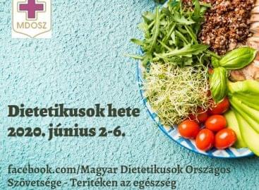 Kezdődik a Dietetikusok hete