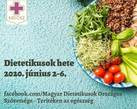 (HU) Kezdődik a Dietetikusok hete