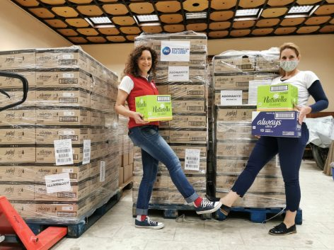 21 tons of product donation for Hungarian Red Cross
