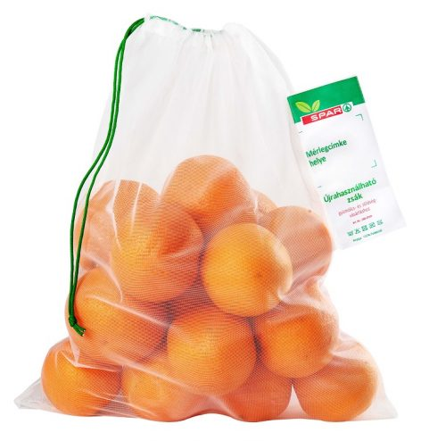 Reusable fruit and vegetable bags and silicone lids are already available in SPAR's entire store network.