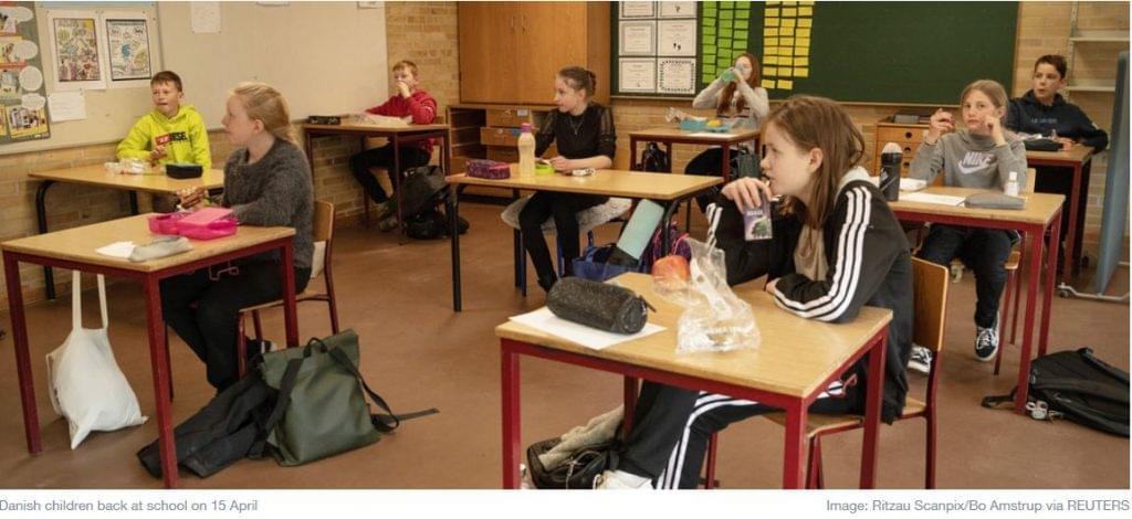 Dániában hamar visszanyitották az iskolákat