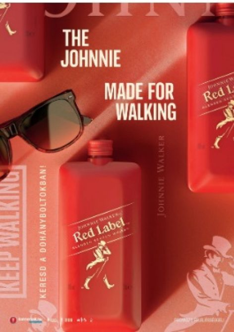 Johnnie Walker Red Label received a brand new packaging