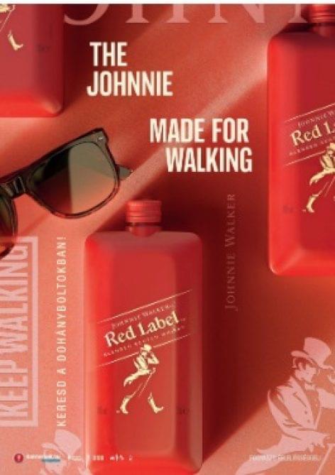 Vadonatúj csomagolást kapott a Johnnie Walker Red Label