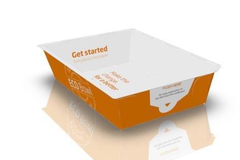 A DS Smith és MULTIVAC bemutatja az ECO Bowl-t, a friss ételek tárolására szolgáló innovatív hullámpapír alapú csomagolást