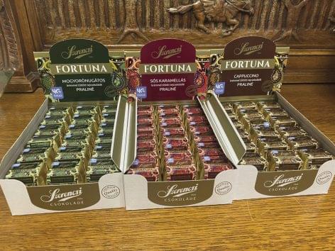 Szerencsi Fortuna chocolate bits