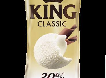 KING CLASSIC jégkrém – 30% CUKOR