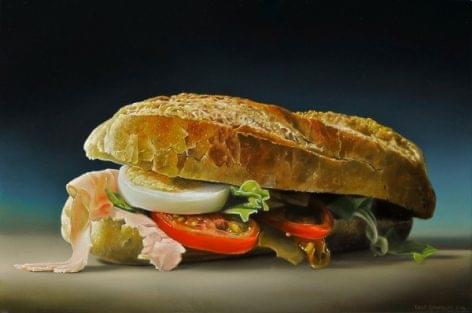 Megarealista ételfestészet – A nap videója