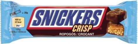 Snickers Crisp 2×20g