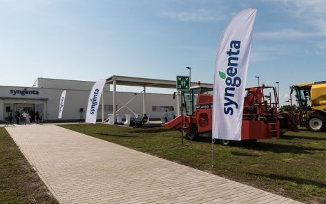 Another milestone is Syngenta's investment in Mezőtúr
