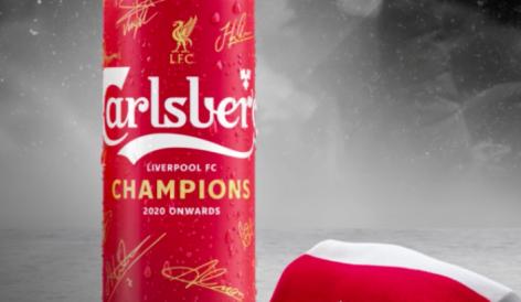 Itt a Champions Can, a Carlsberg limitált söre
