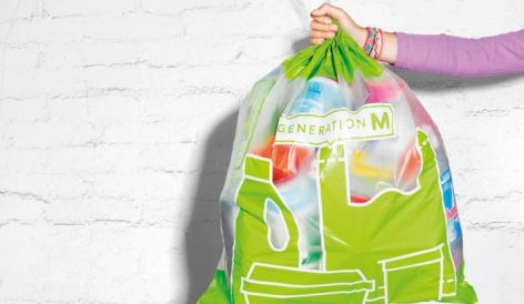 Műanyaggyűjtő zacskók a Migrostól
