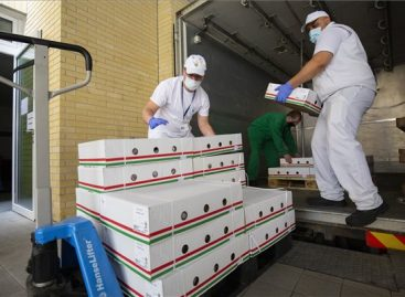 Health workers received ten thousand servings of game