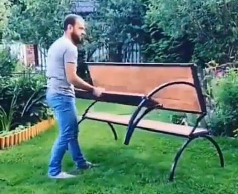(HU) Összecsukható teraszbútor – A nap videója