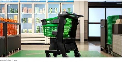 Az Amazon Dash Cart bevásárlókocsija az új kasszamentes megoldás
