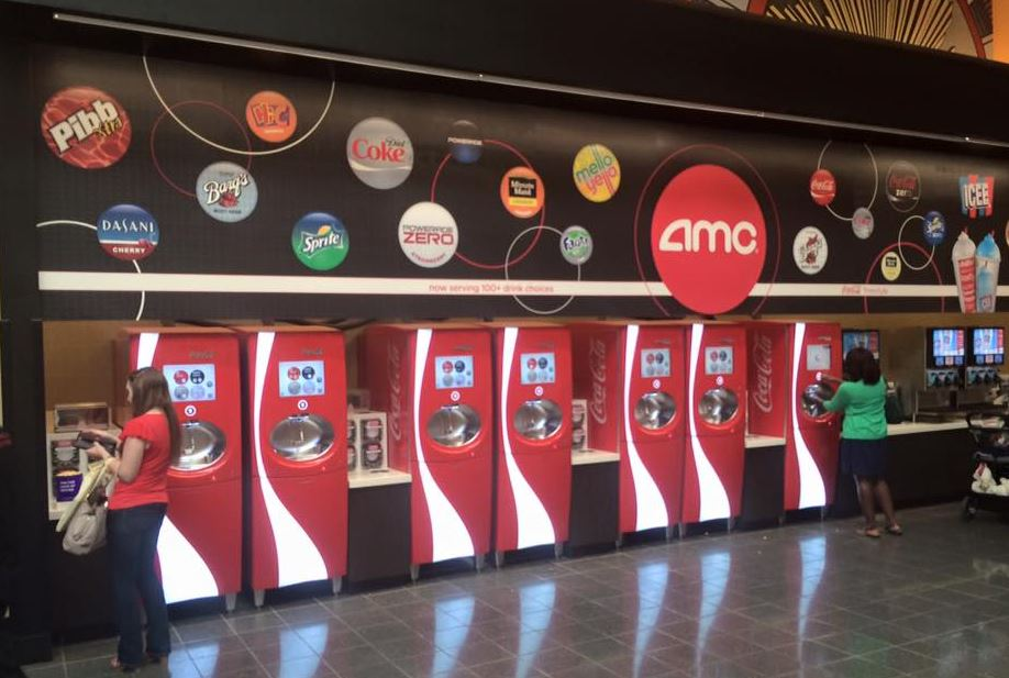 Coca-Cola italautomaták