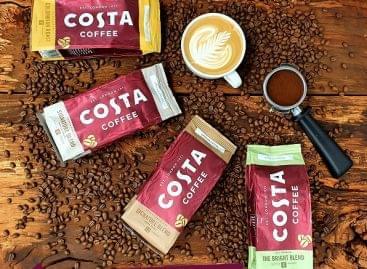 Folyamatosan bővülő kávépiacon készül nagy szeletet kiharapni a Costa Magyarországon