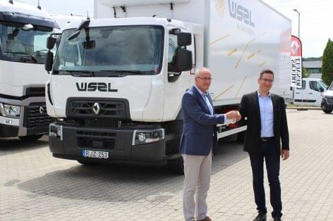 A válság ellenére is töretlen a WSZL és a Renault Trucks Magyarország együttműködése