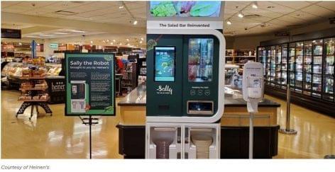 Sally, a salátakészítő robot lehet a salátabárok megmentője