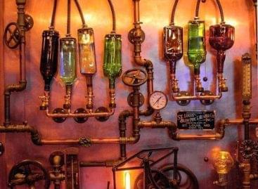 Akar steampunk éttermet? Lámpát már tudunk hozzá! – A nap képe
