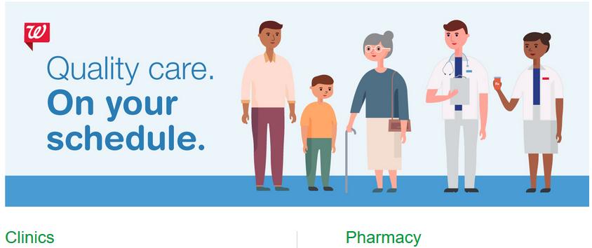 A Walgreens a klinikák és a patikák együttműködésére számít