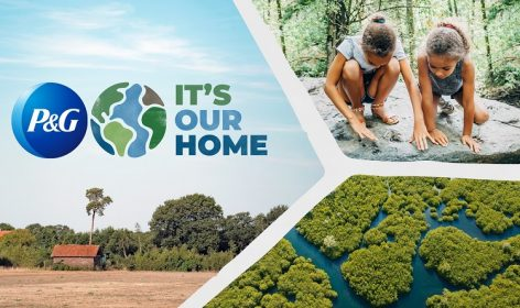 P&G chooses natural solutions to accelerate the fight against climate change, making it carbon-neutral for the next decade