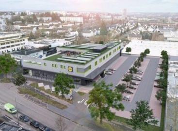 Játszóház is lesz a Lidl új, fenntartható üzletében