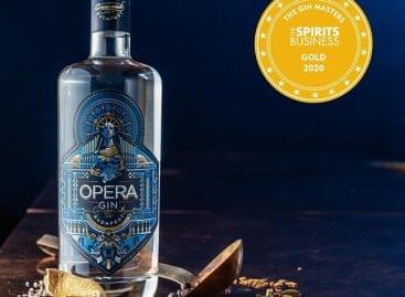 Nemzetközi elismerés az Opera Gin Budapestnek