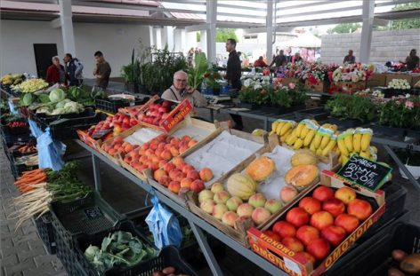The producer market in Abaújszántó has opened