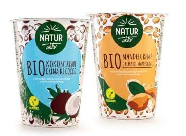 Újabb vegán élelmiszer az ALDI-nál: bio kókuszkrémmel és bio mandulás krémmel bővült az állandó kínálat
