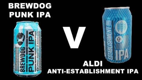 Brewdog kontra Aldi – háború vagy közös reklám?