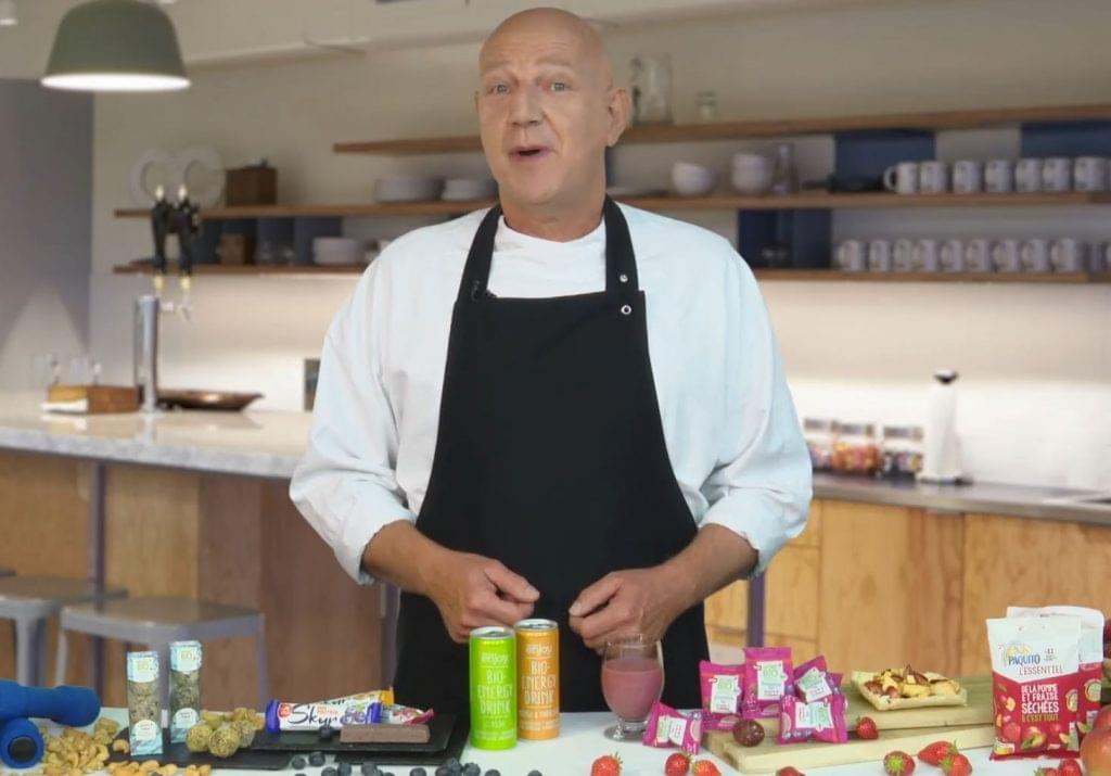Berry Pronk séf energizáló élelmiszerek kóstolója