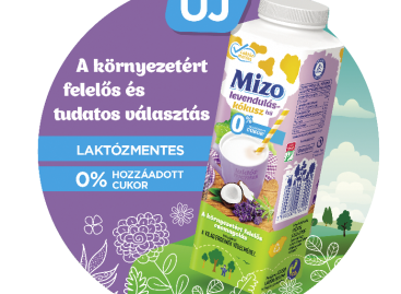 MIZO levendulás-kókusz ízű ital 450 ml