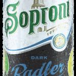 Soproni Dark Radler 0,0% Citrom
