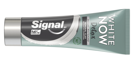 Signal White Now Detox toothpastes