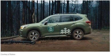 Subaru reklám valódi tűzvész felvételekkel