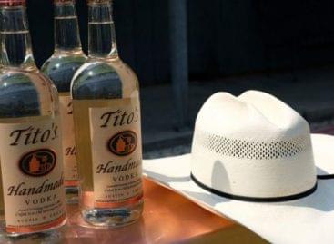 (HU) Már a briteknél is kapható Tito vodkája