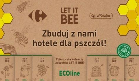 Let It Bee füzetek a Carrefour Polskától