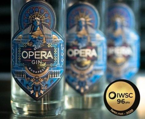 Aranyat nyert az Opera Gin Budapest