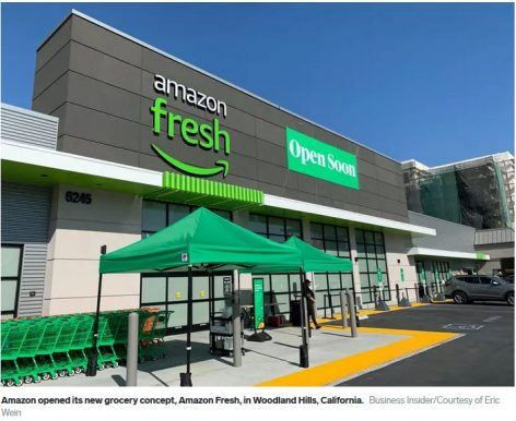 Amazon expands Fresh Grocery delivery service in the UK
