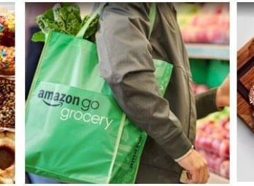 Meleg ételek a második Amazon Go Grocery boltban