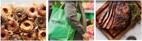 Hot food in the second Amazon Go grocery store