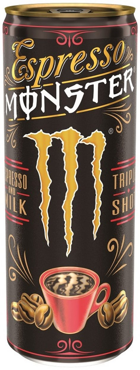 Igazi kávéélmény dobozból – az Espresso Monster kevés kalóriával és magas kávétartalommal pörgeti fel a fogyasztókat