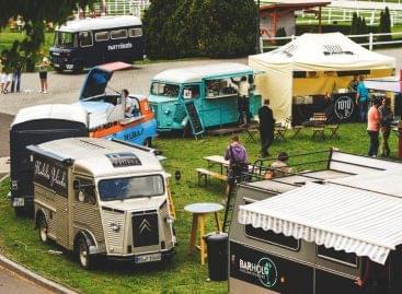 Food Truck-díjátadó a Margitszigeten