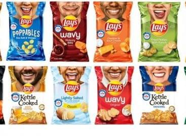 Lay's mosoly kampány újratöltve