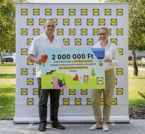 Kétmillió forinttal támogatja a Lidl a menhelyi kisállatokat