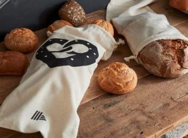 Újrafelhasználható kenyeres zsákok az Aldi Südtől