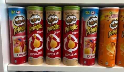 Újrahasznosítható csomagolás a Pringles-től