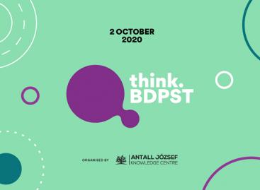 Egy hét múlva startol a think.BDPST