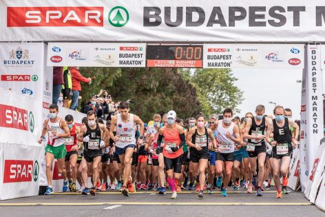 Donations collected at the running festival help the Hungarian Maltese Charity Service